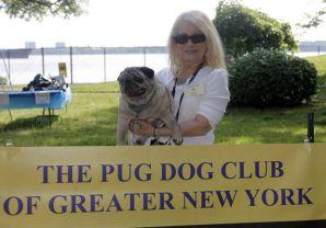 Lezlie Dono, President of PDCGNY, organized the event. Photo by Anthony DePrimio/Staten Island Advance