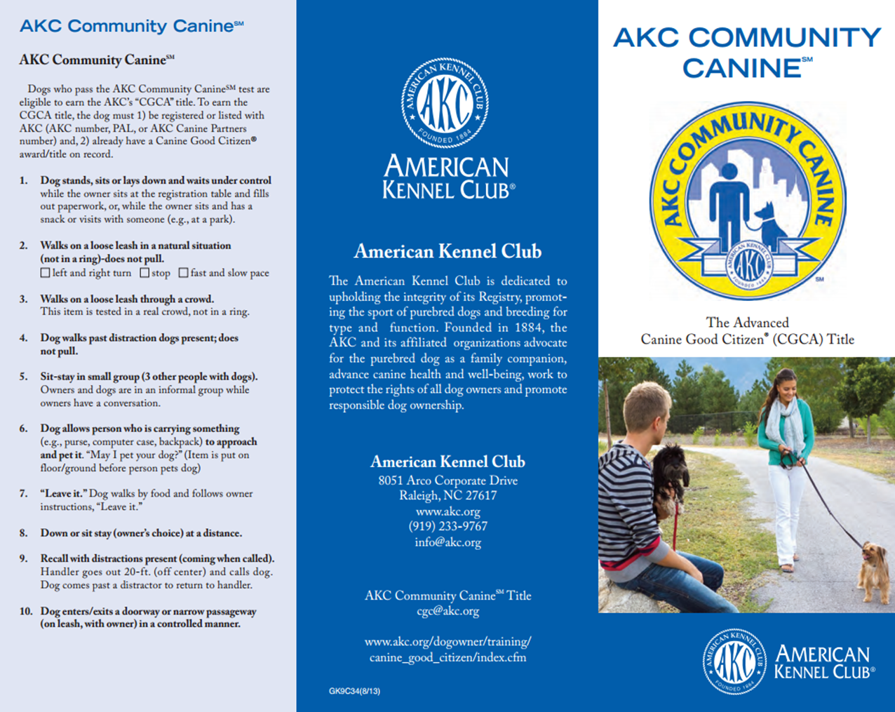 AKC Comm Canine