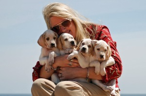 Pointer breeder Helyne Medeiros, breed columnist for the American Pointer Club